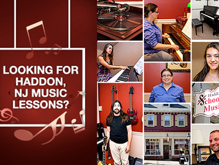 Looking for Haddon, NJ Music Lessons?