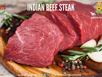 Indian Beef Steak Supplier in Dubai, UAE | Sidco Foods
