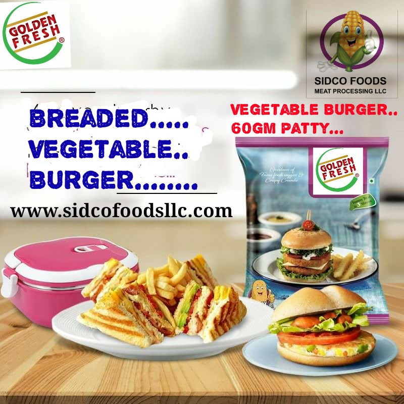Vegetable Burger Supplier in Dubai UAE