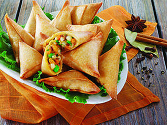 Vegetable Samosa ( 1 kg ) Available Online in Dubai UAE | Sidco Foods