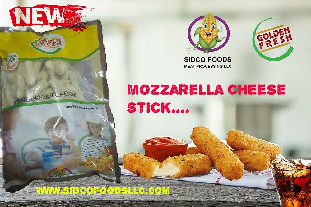 Breaded Mozzarella Cheese Stick