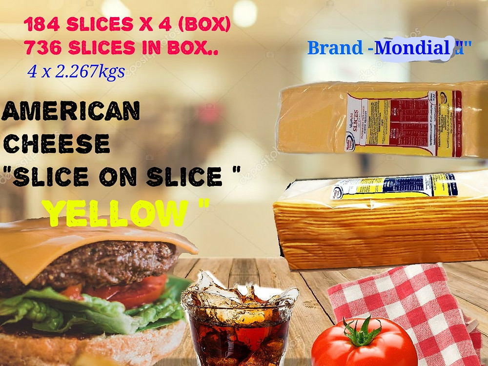 cheese slice supplier in DUBAI UAE