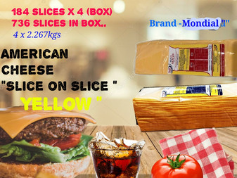 cheese slice  supplier in Dubai UAE , Sidco Foods Trading LLC , www.sidcofoodsllc.com