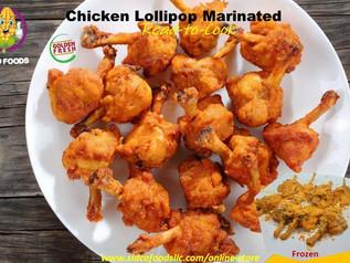Chicken Lollipop (marinated) Supplier in Dubai ,UAE | Sidco Foods Trading LLC