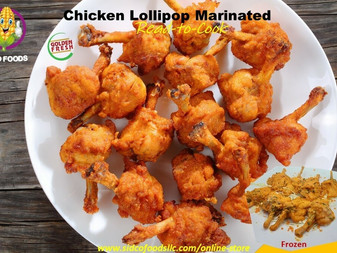 Chicken Lollipop (marinated) Supplier in Dubai ,UAE | Sidco Foods Trading LLC