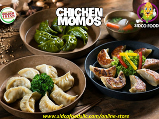 Frozen Chicken Momos in DUBAI UAE available Online - SIDCO FOODS - ONLINE STORE