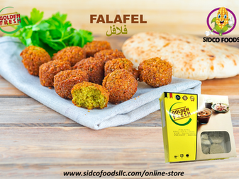 Falafel in DUBAI UAE Available Online | SIDCO FOODS TRADING LLC