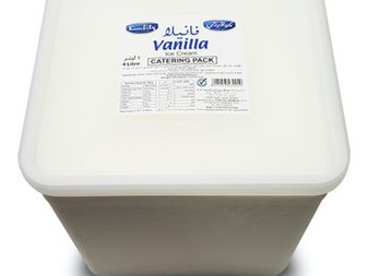 Vanilla Kwality Ice Cream 4litr -Sidco Foods Catering Pack