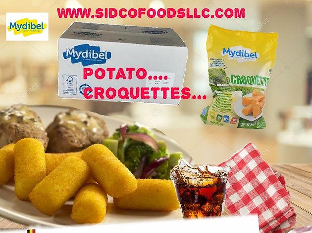 Potato Croquettes ( Mydibel Brand ) Supplier in Dubai UAE