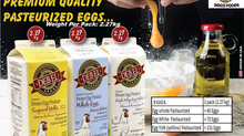 Frozen Pasteurized Liquid Egg - Egg  Yolk ,Whole Egg ,Egg White in DUBAI UAE Available Online-Sidco