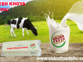 Fresh Khoya ( Mawa ) in Dubai UAE available Online | SIDCO FOODS TRADING LLC. ALL dairy products