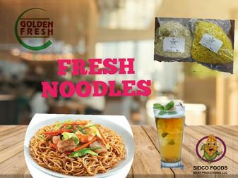Fresh Noodles - Egg noodles & Veg Noodles supplier in Dubai UAE - Sidco Foods Trading LLC (www.s