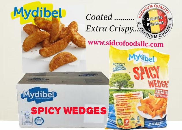 Seasoned Potato Wedges Supplier in Dubai , UAE - Sidco Foods Trading