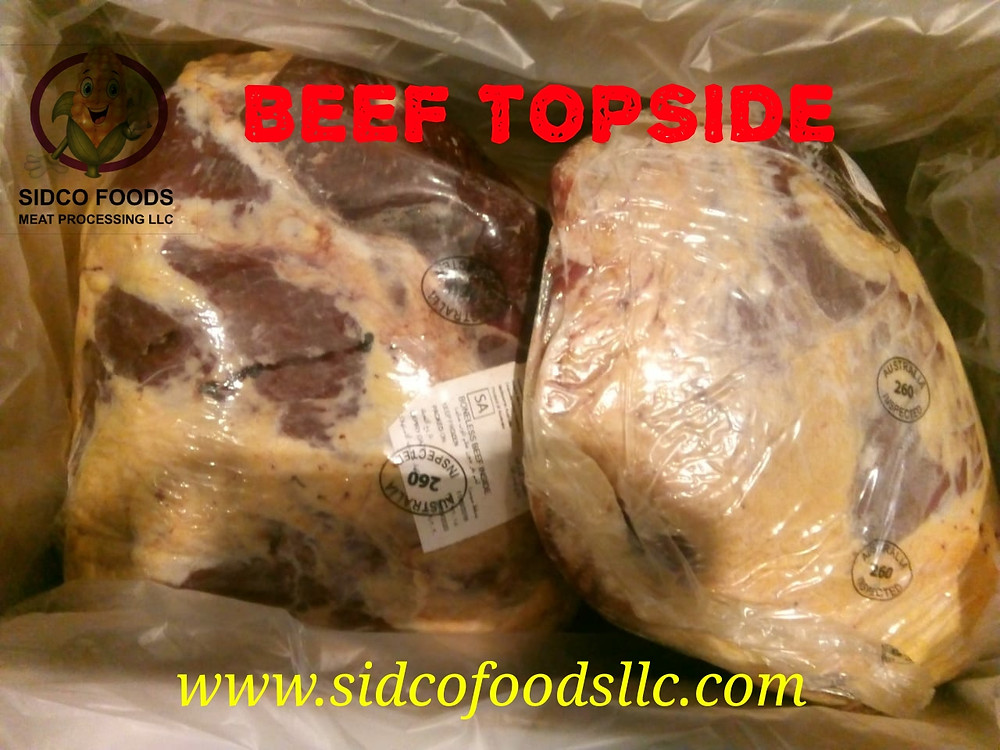 Beef TopSide Supplier in Dubai - Sidco Foods Trading LLC