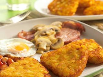 Hash brawn , Potato wedges  , Battered Onion Rings , Croquettes ,mozzarella sticks, potato crisscut