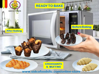 Frozen Mini Croissants in Dubai UAE Available Online | Sidco Foods (Ready to bake)