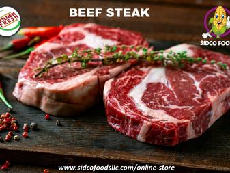 Brazilian Beef Steak supplier in Dubai,UAE | Sidco Foods