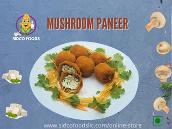 Mushroom Paneer Supplier in Dubai, UAE| Sidco Foods Trading LLC