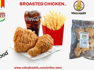 Broasted Chicken 5pcs (KFC Style) Supplier in Dubai,UAE| Sidco Foods