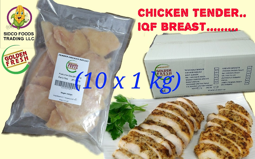 Tender Chicken Breast Calibrated Calibrated