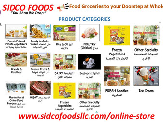 Food Groceries to your Doorstep at Wholesale Rates | Sidco Foods