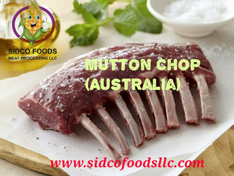 Mutton Chop Supplier in Dubai UAE , Sidco Foods Trading LLC.