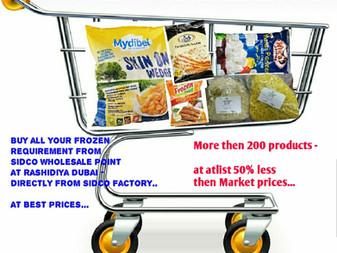 Frozen Foods online Shopping in DUBAI UAE