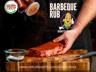 Barbeque Rub Supplier in Dubai, UAE | Sidco Foods Trading LLC