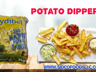 Potato Dippers ( Mydibel Brand ) Supplier in Dubai UAE , Sidco Food Trading LLC . www.sidcofoodsllc.