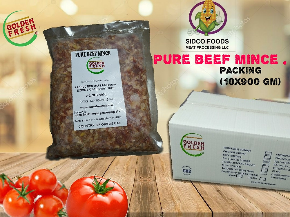 PURE BEEF MINCE - GROUND BEEF
