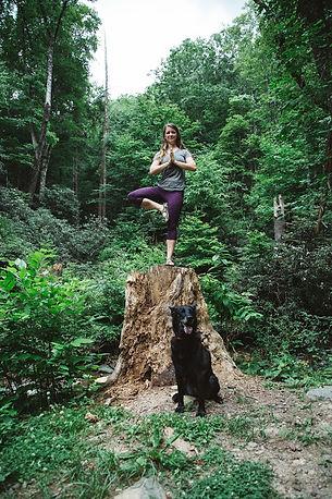 Kimber Jones- yoga teacher and ayurvedic health coach who teaches the introduction to ayurveda workshop at Moksha Yoga & Wellness in Asheville, NC