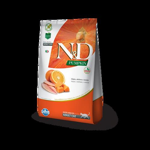 ND Pumpkin Feline - Tilápia & Laranja