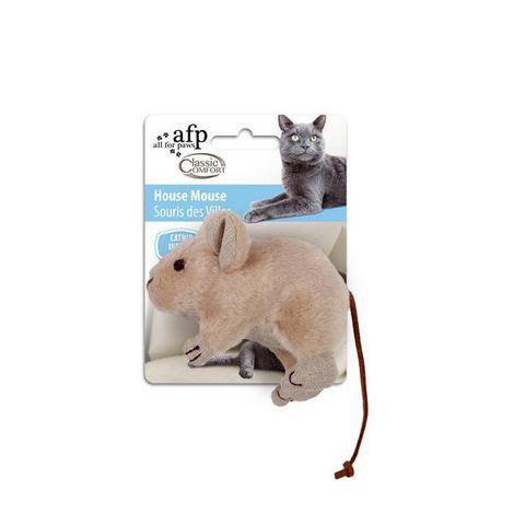 Rato Gordinho com Catnip - Marrom ou Bege