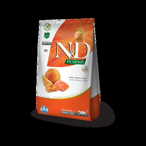ND Pumpkin Feline - Salmão & Laranja