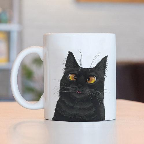 Caneca Gato Pretinho