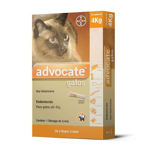 Antipulgas Advocate para Gatos de até 4kg
