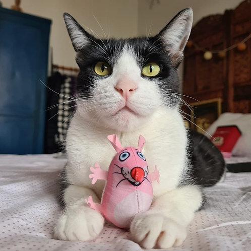 Ratinho com Catnip e Chocalho - Eeeks Fat Cat
