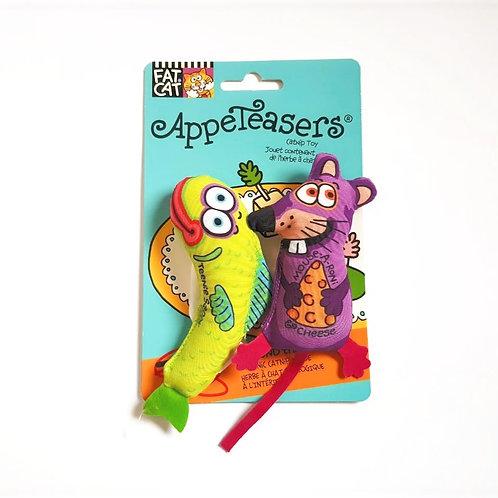 Brinquedo com Catnip - Peixe e Rato
