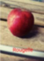 Pomme variété Rougelle