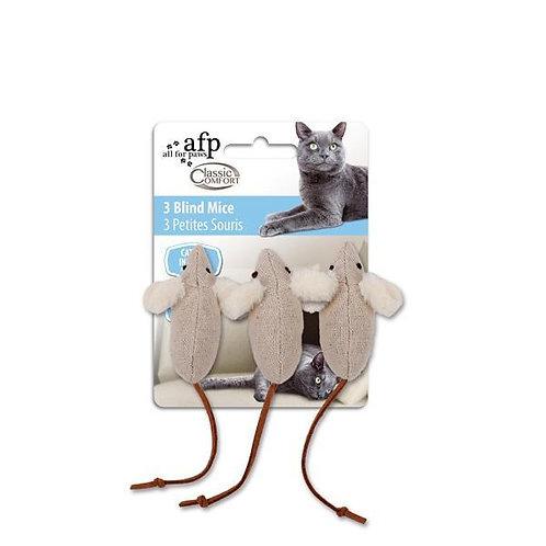 Ratinhos com Catnip e Rabo de Couro - 3 unidades por embalagem