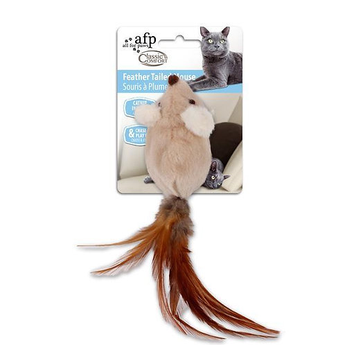 Ratinho com Penas e Catnip