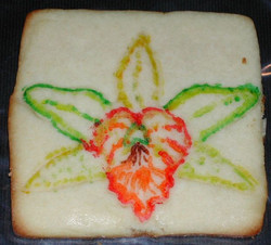 Orchid Cookie