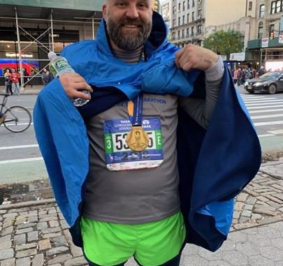 Michael Beer Running the New York Marathon for SANE