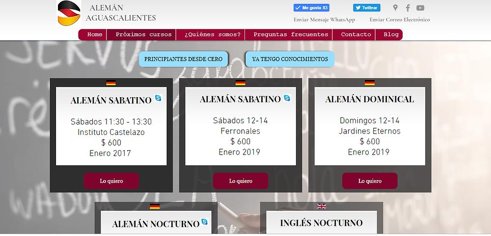 Cursos de alemán e inglés para principiantes con inicio en enero 2019   Alemán Aguascalientes