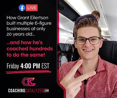 Grant Eilertson Aly Samaha Coaching Catayzer