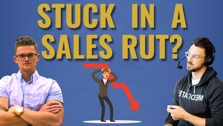 """How To Break Through A Sales Rut And Leave Your """"Upper Limit"""" In The Dust"""