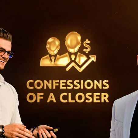 Confessions Of A Closer | Ep. 1 | Spencer Mayo