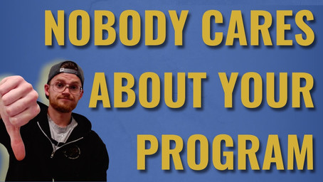 Nobody Cares About Your Program | How To Close More High Ticket Sales