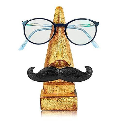 Mustache glasses stand