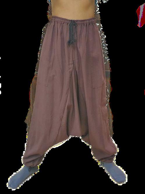 Brown Harem Pants